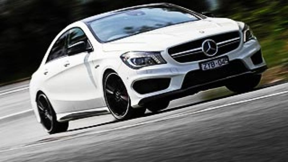 Mercedes-Benz CLA45 AMG: First drive review