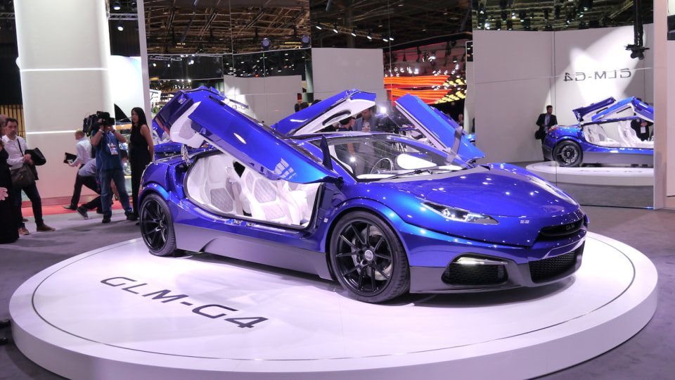 Designed In The Netherlands, Made In Japan And Heading Elsewhere  - GLM G4 Surprises In Paris