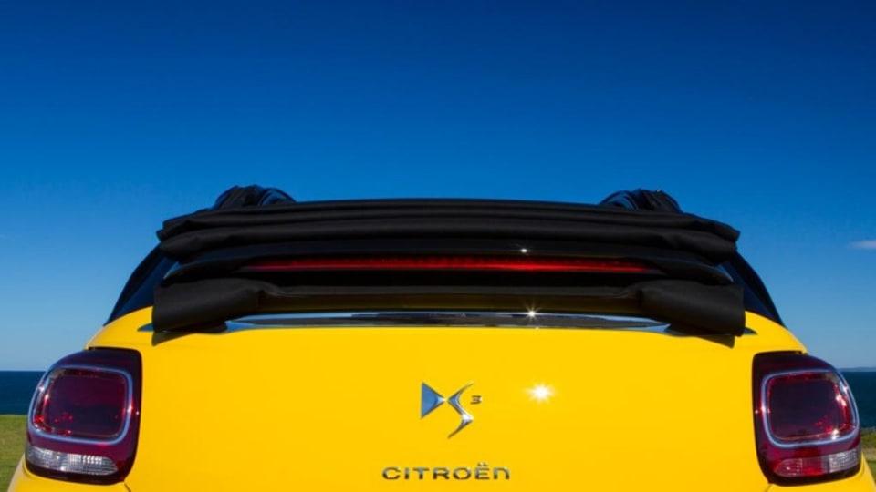 Citreon DS3 Cabrio.