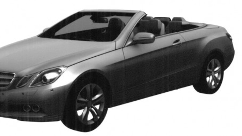 Mercedes-Benz E-Class Convertible Fully Revealed In Trademark Application