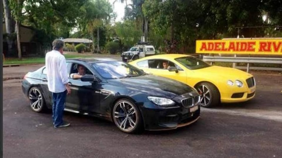 Top Gear busted in the Top End