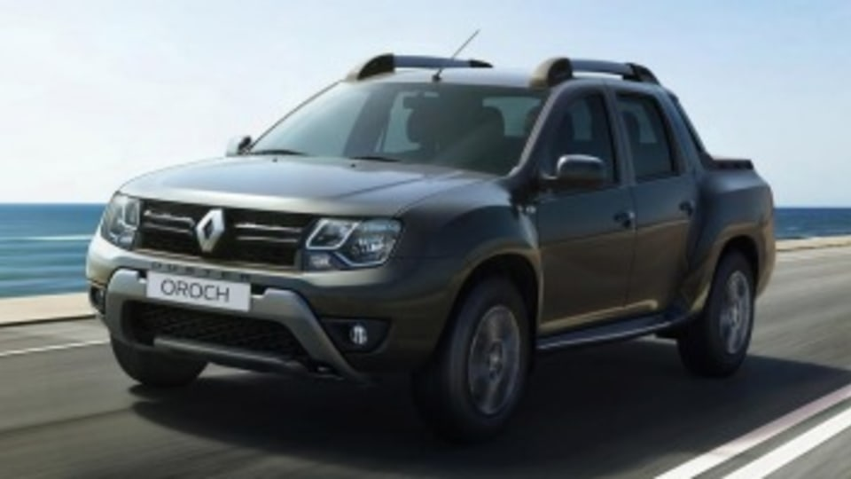 Not coming to Australia: the Renault Duster Oroch ute.