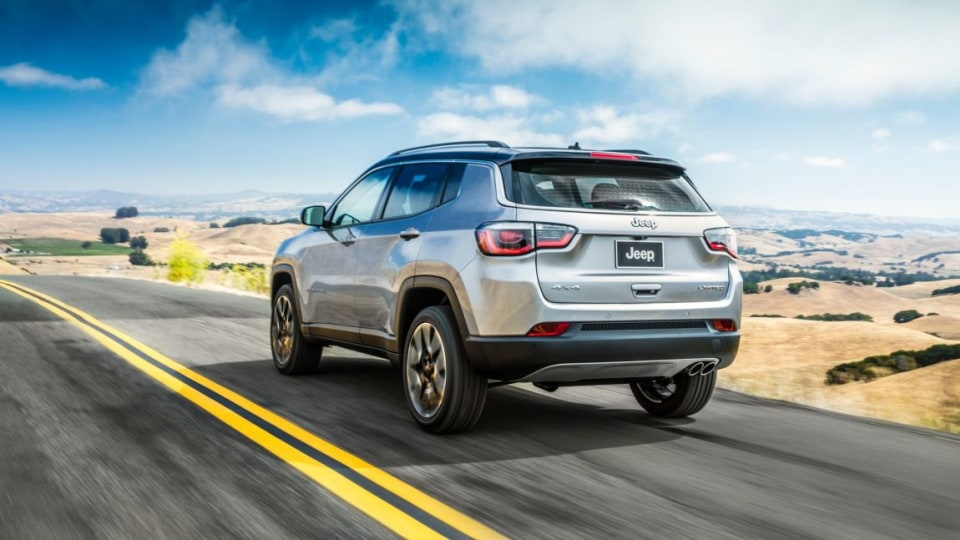 2017 Jeep Compass Limited.