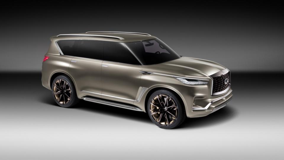 QX80 Monograph Concept Signals Infiniti's Luxury SUV Intent
