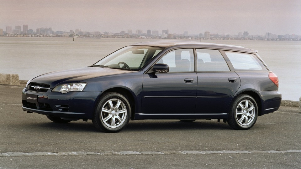 2003 Subaru Liberty wagon.