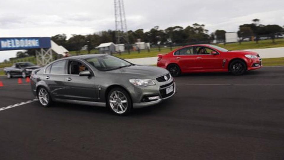 2013 Holden VF SS-V Redline Track Review: Sedan, Ute