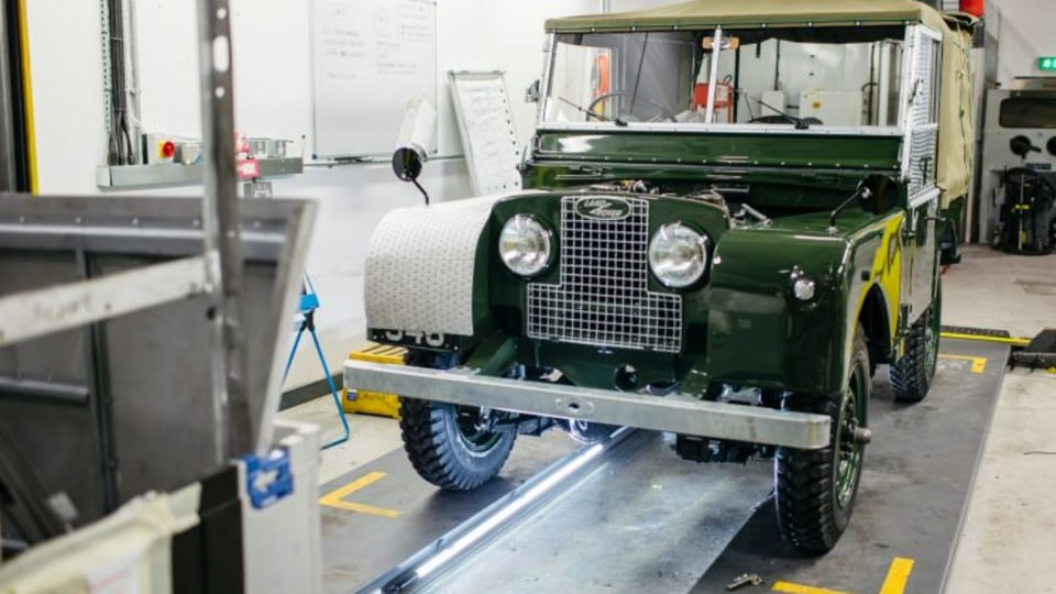 Land Rover Reborn transforms rustic four-wheel-drives into showrom-fresh collectables.