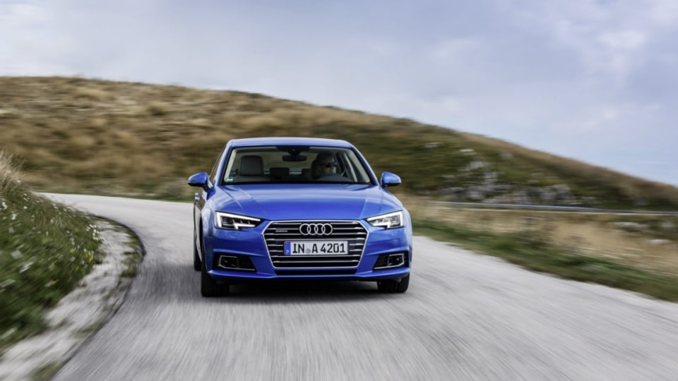 German brand has revealed its all-new A4 which will face stiff competition from the Mercedes-Benz C-Class and BMW 3-Series.