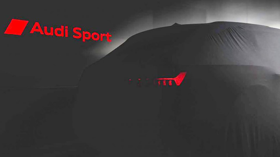 2020 Audi RS6 teased