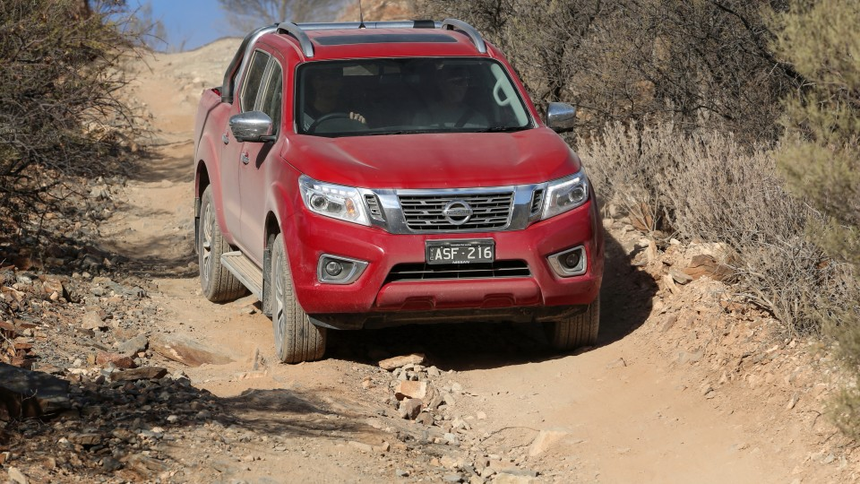 Outback Comparison Test - Nissan Navara ST-X