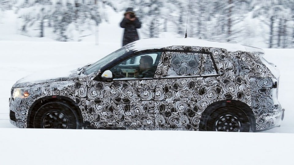 Spy photographers have snapped the new BMW X1 during testing. Source: Automedia.