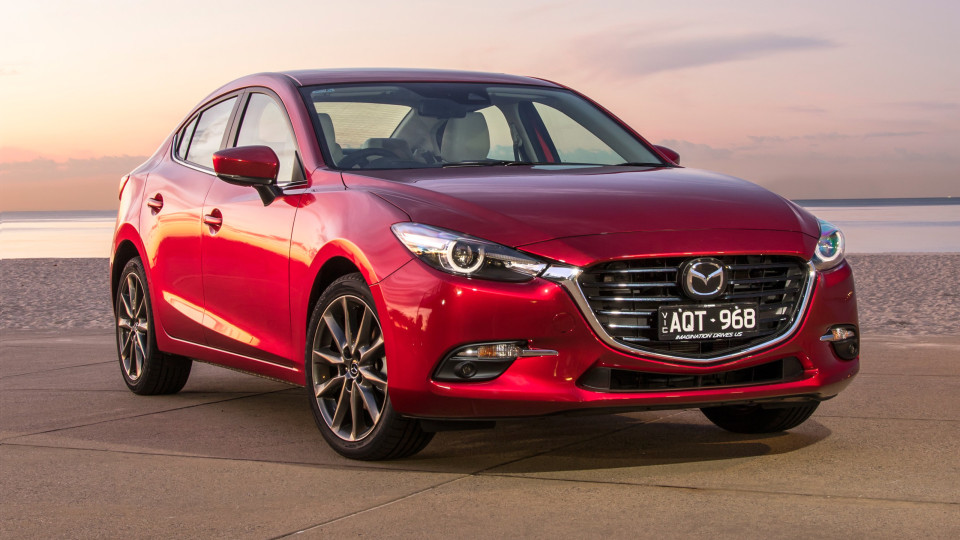 Mazda gave the Mazda3 a mild facelift in 2017.