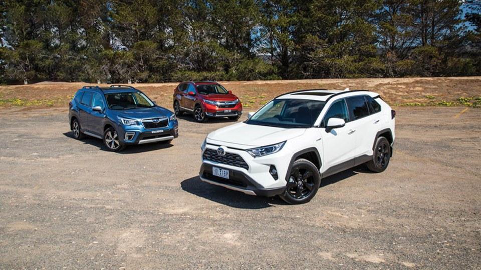 Drive 2020 Best Medium SUV group shot