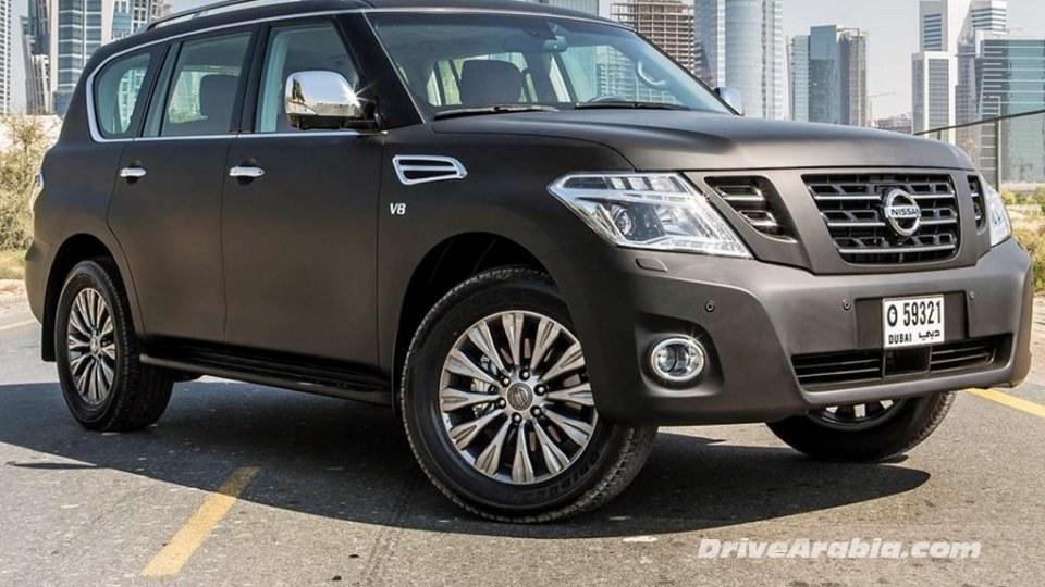 2014 Nissan Patrol Facelift Revealed Ahead Of Dubai Motor Show: Video