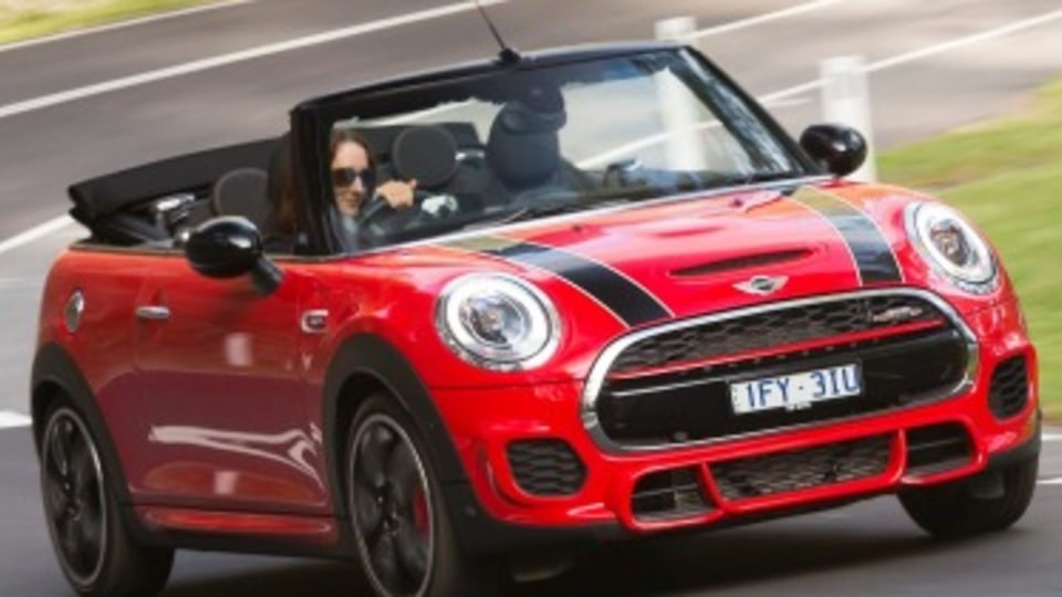 Mini Convertible John Cooper Works first drive review