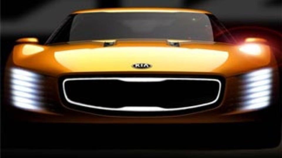 Kia Stinger concept revealed