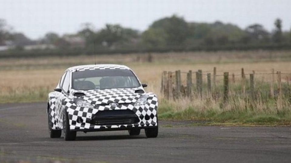 WRC: Ford Release Pictures of Fiesta S2000