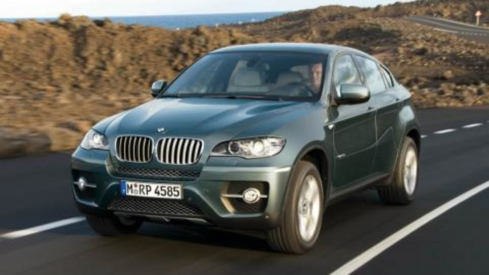 BMW X6 Sports Activity Coupe to debut in Detroit