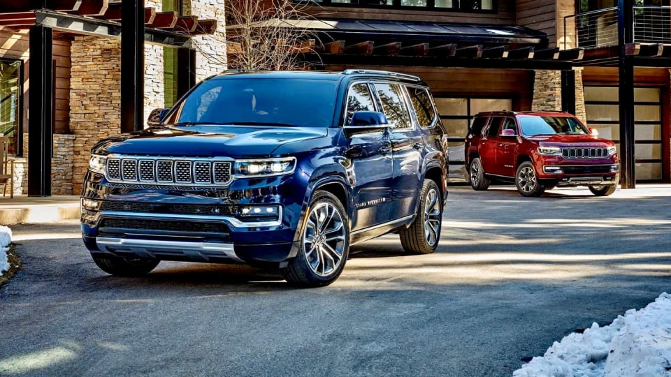 2022 Jeep Wagoneer and Grand Wagoneer revealed, not for Australia