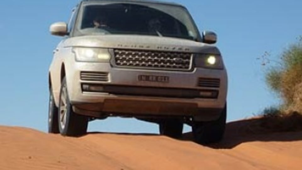Range Rover Vogue TDV6: Outback road test