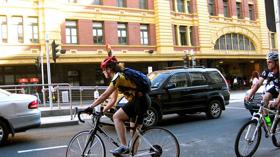 Victoria Police Continue Blitz On Cyclists