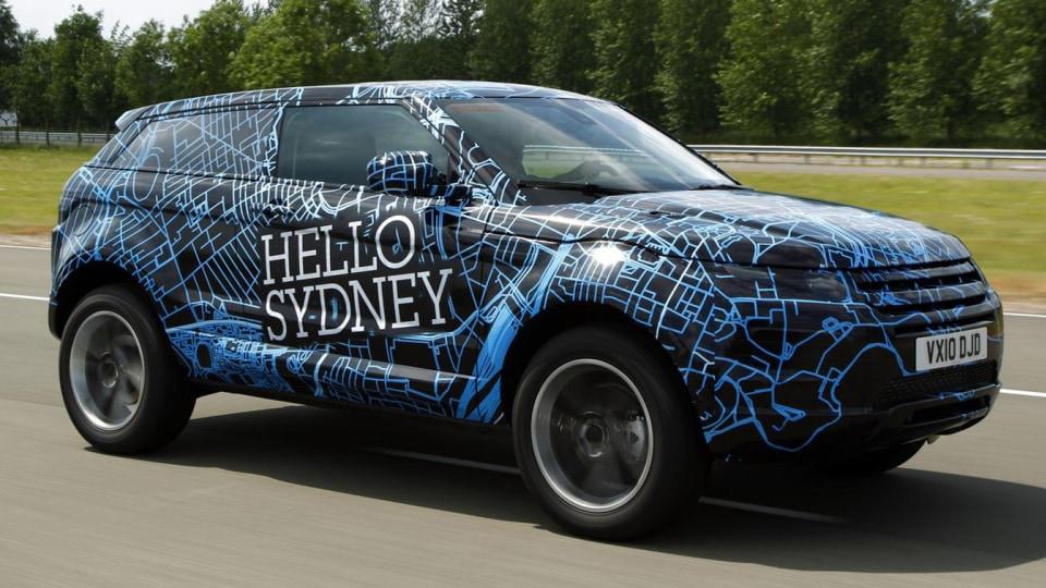 Range Rover Evoque To Appear At 2010 Australian International Motor Show