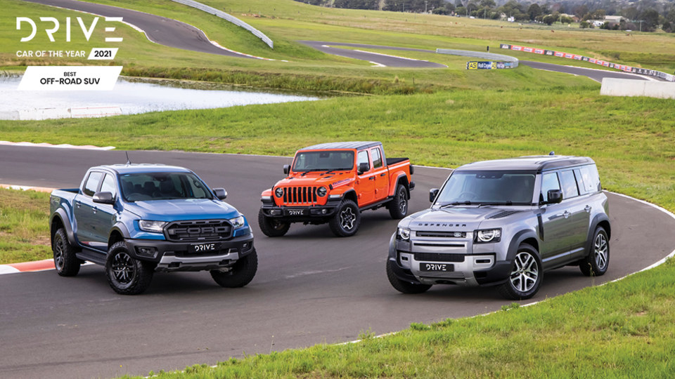 Drive Best Off-Road SUV 2021 finalists group photo