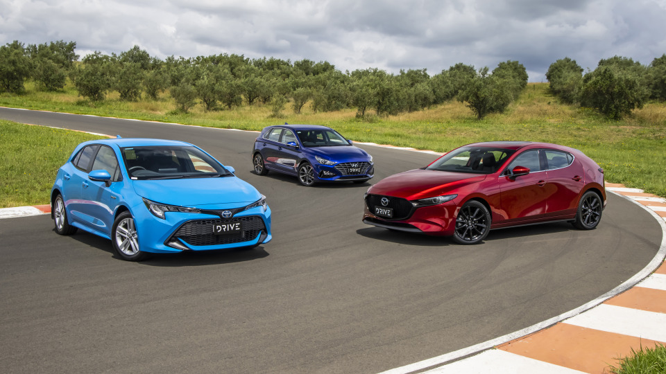 Drive Best Small Car 2021 finalists group photo