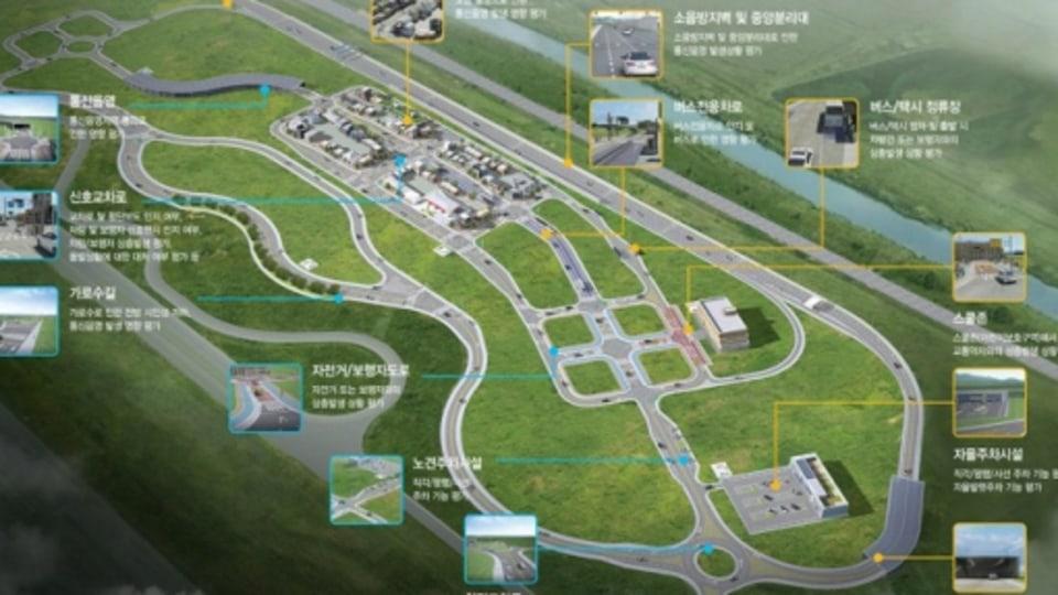 South Korea K-City The Latest Autonomous Test Facility