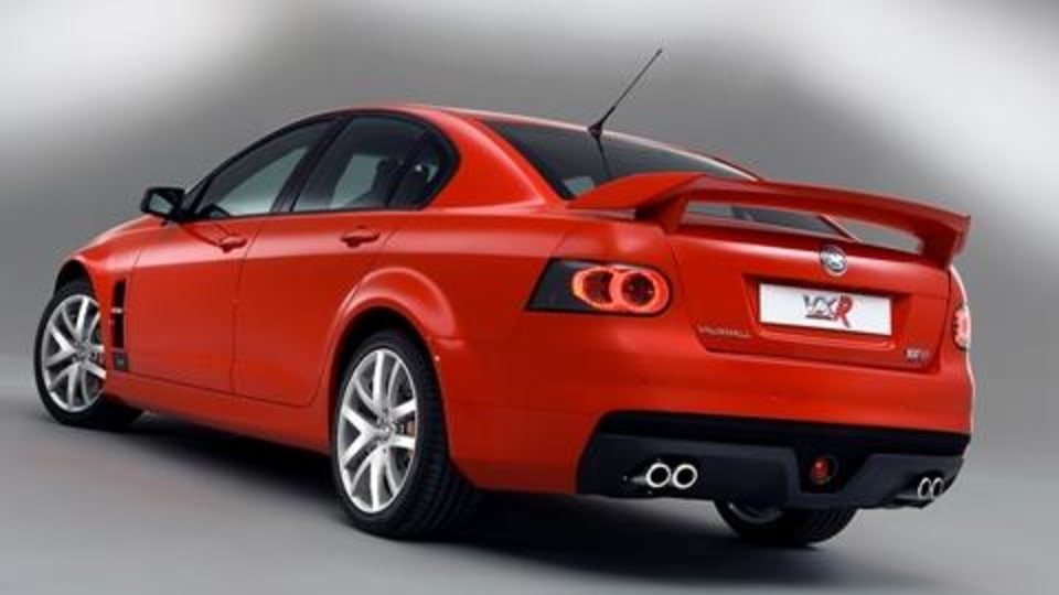 Vauxhall VXR8 tested by Top Gear video
