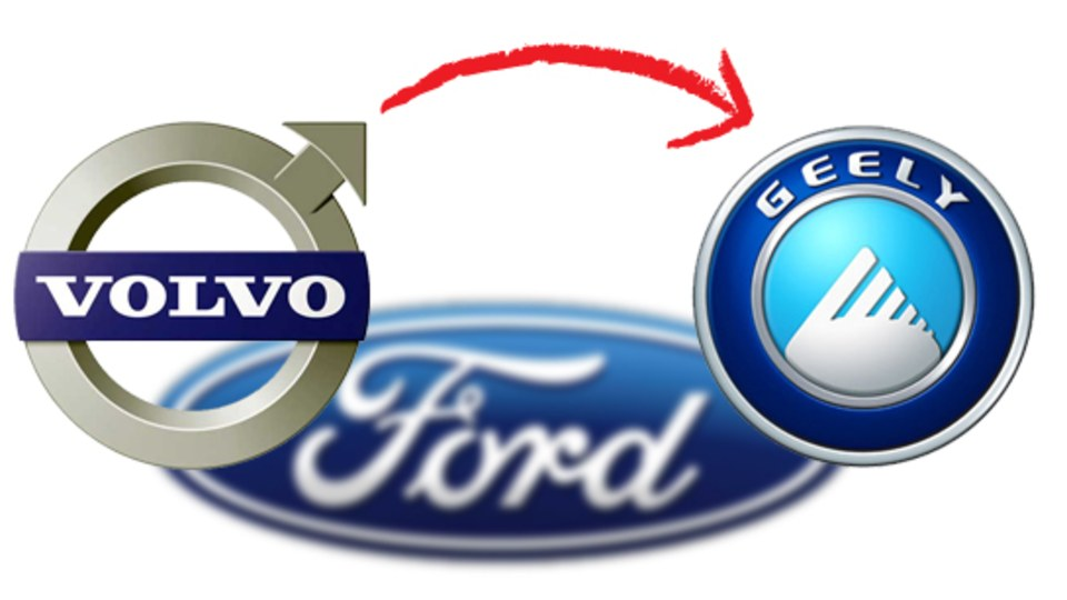 Ford And Geely Announce Volvo Sale