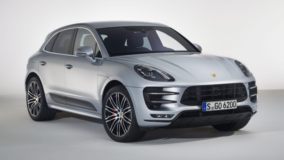 2017 Porsche Macan Turbo with Performance Package.