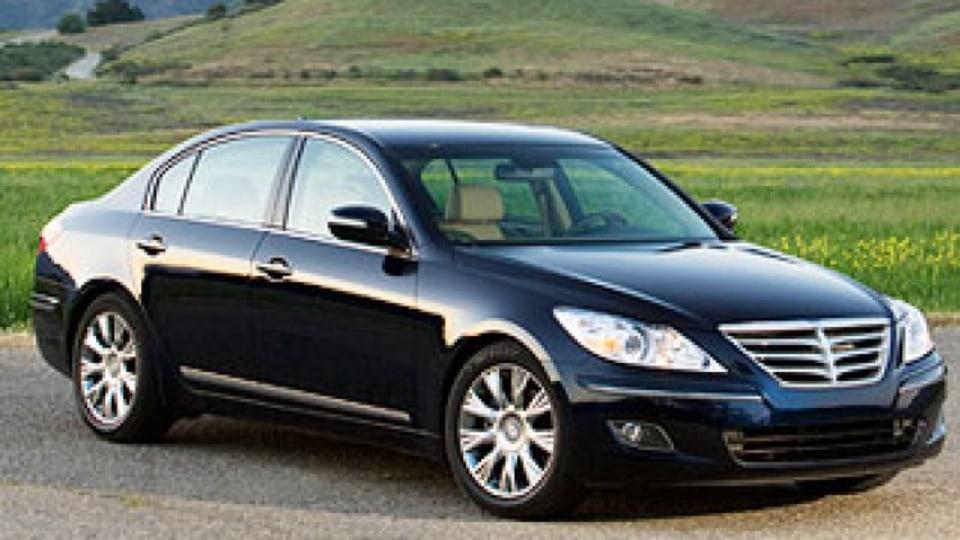First drive: Hyundai Genesis Sedan