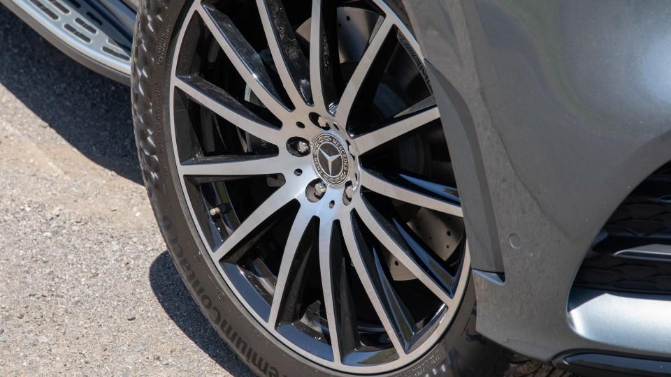 Drive Car of the Year Best Upper Large Luxury SUV 2021 finalist Mercedes-Benz GLS-Class wheel
