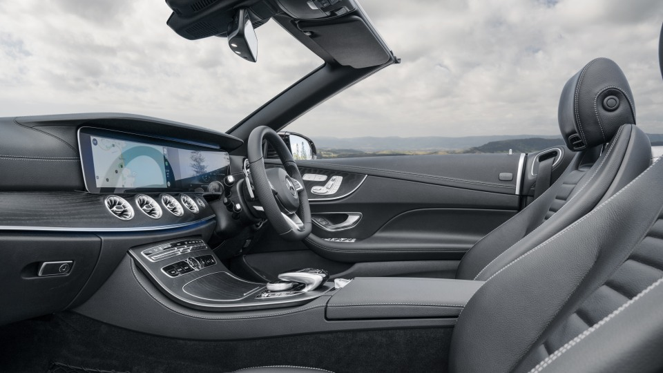 The E-Class comes with climate controlled seats.
