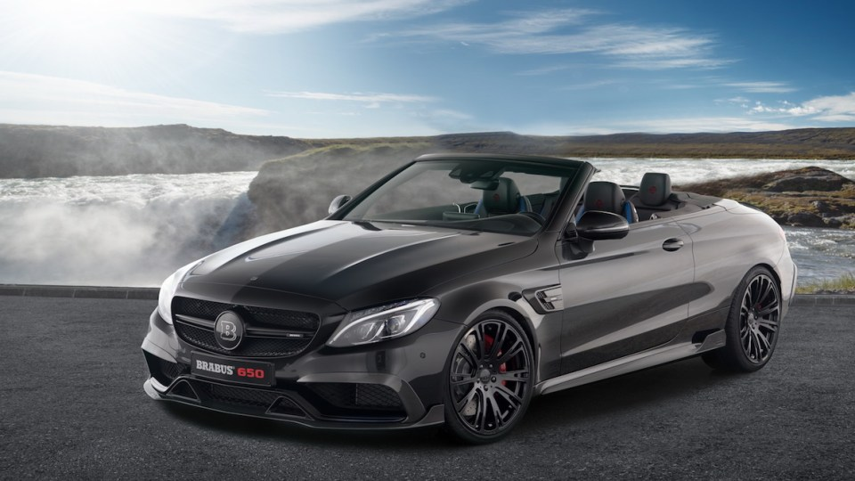Brabus Applies 478kW/820Nm treatment to Mercedes-AMG C 63 S Convertible
