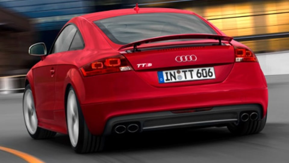 Spoiler alert ... the Audi TTS.