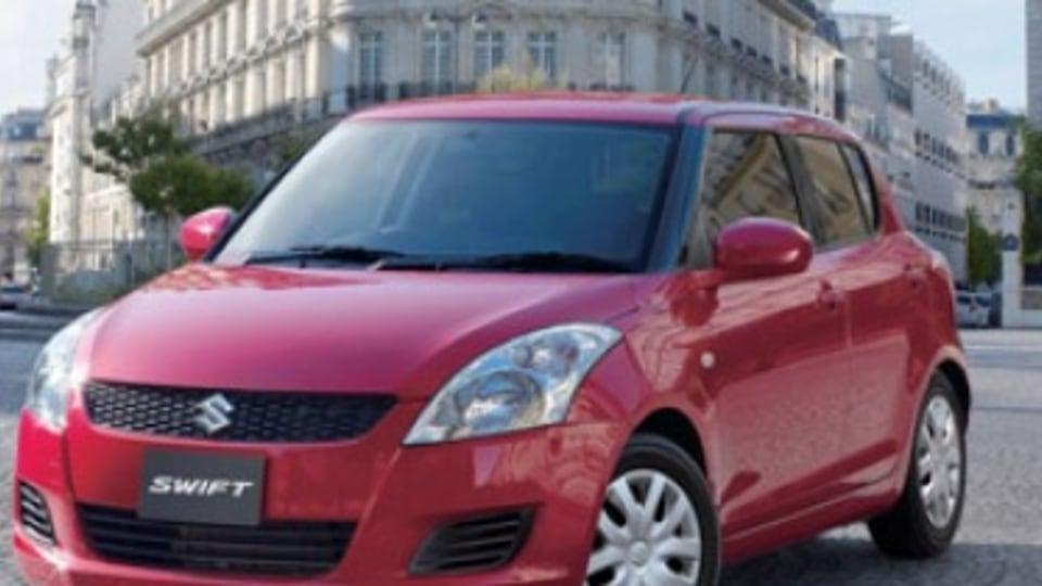 Suzuki Swift sedan on the radar