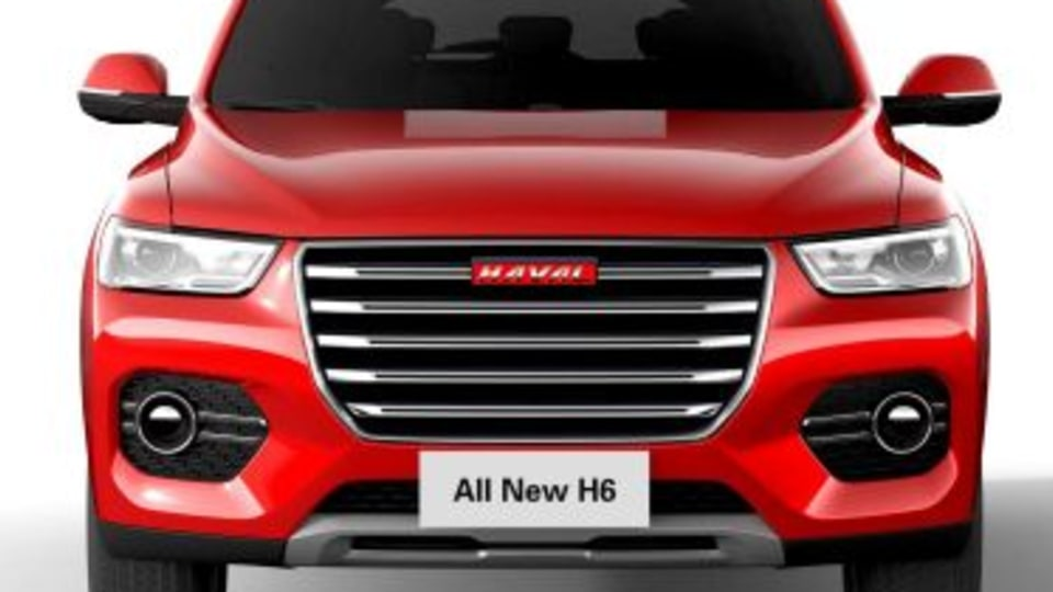 New Haval H6 revealed