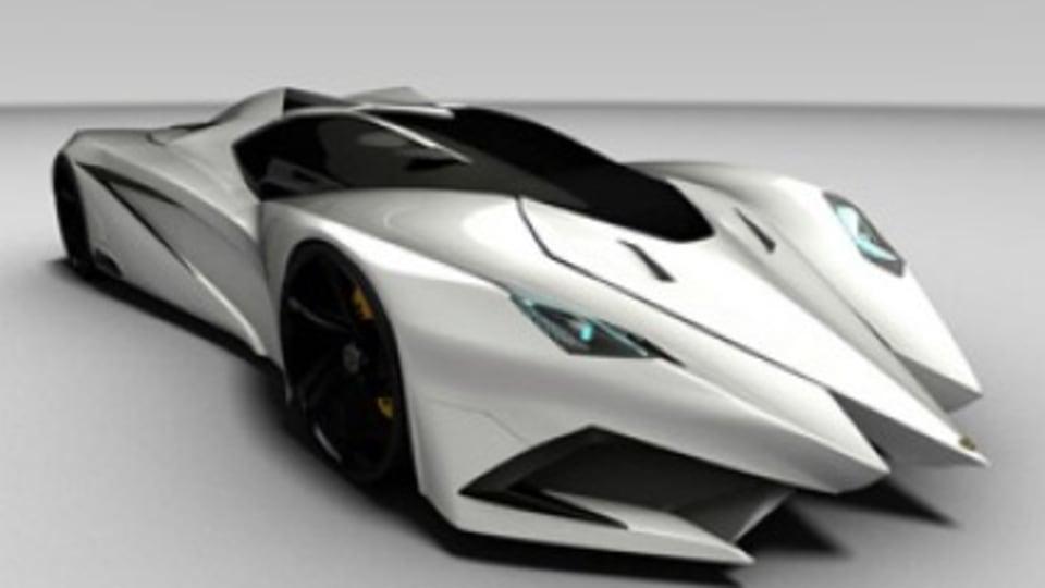 Batman meets Lamborghini