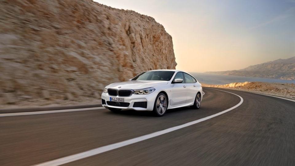 2018 BMW 6-Series Gran Turismo.