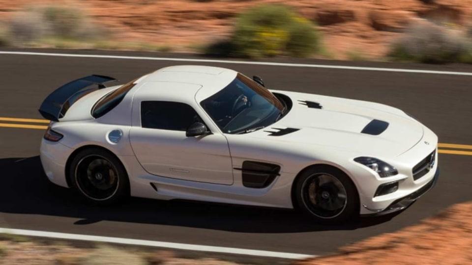Mercedes-Benz SLS AMG Black Series 'Gullwing'.