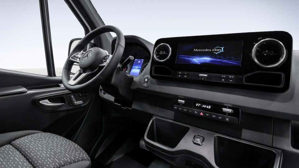 2018 Mercedes-Benz Sprinter Interior Revealed