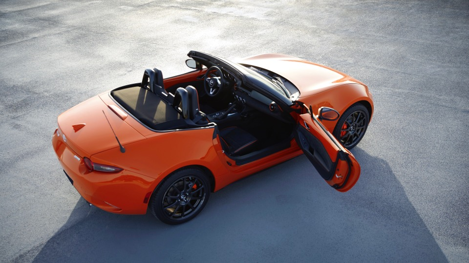 Mazda unveils 30th Anniversary MX-5