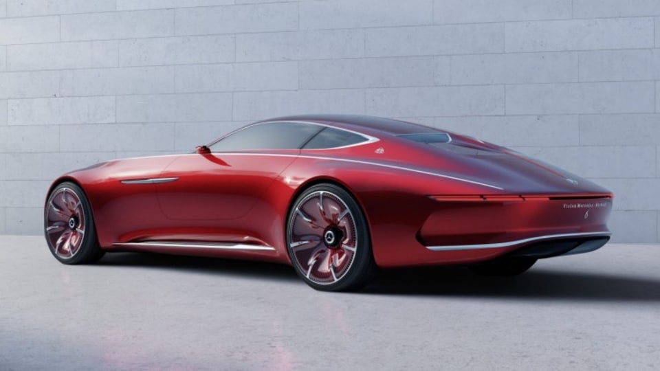 the fact that Vision Mercedes-Maybach 6 carries the Maybach designation could signal that Mercedes-Benz plans to let its superluxury division branch out into other kinds of vehicles rather than offering a limited line of limousine-style sedans.