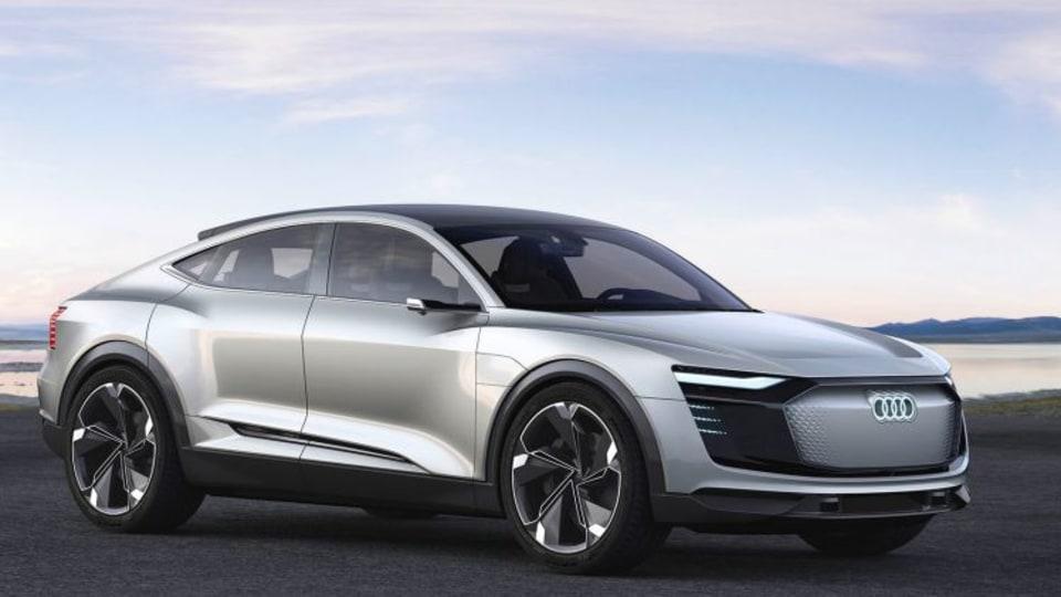 Audi's Audi e-tron Sportback concept uses three electric motors to make 370kW of power.