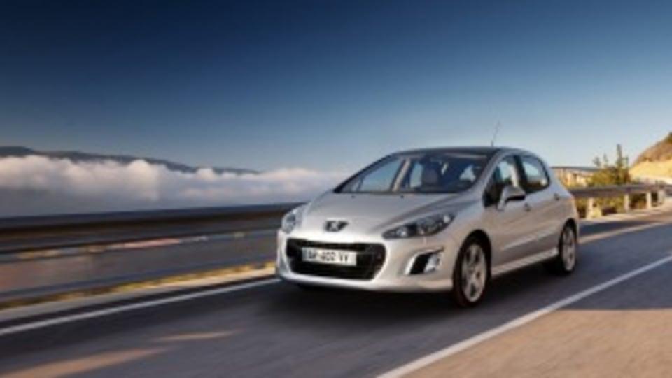 Kelly's 2012 Peugeot 308 makes a disturbing sound when cornering.