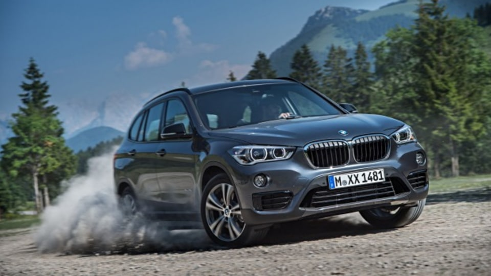 BMW X1 xDrive 25i  Embargo: 8am 17/7/2015