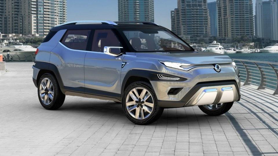 SsangYong Reveals XAVL Seven-Seat SUV - Geneva Motor Show