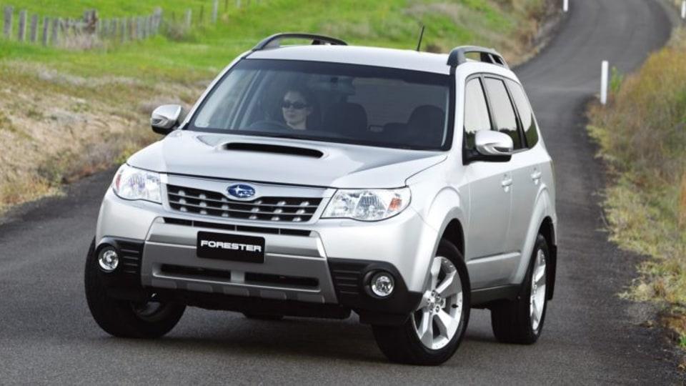 2011 Subaru Forester XT.